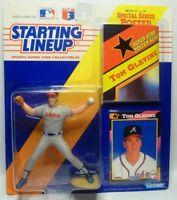 1992  TOM GLAVINE - Starting Lineup (SLU) Baseball Figure - ATLANTA BRAVES