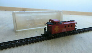 Model Power N 3272 Caboose ATSF 4Achser Boxed Rarely