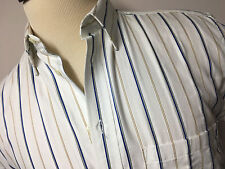 ALBERTO d'ESTE  MADE IN ITALY NEW MEN'S CASUAL SHIRT SIZE 15 1/2 - 39