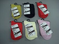 NWT Women's Hue Turncuff Socks One Size Multi 6 Pair #12J