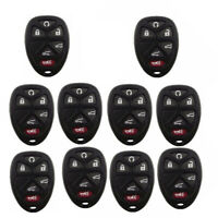 10PCS Remote Key Shell Case for GMC Buick Chevrolet Cadillac Saturn 6 Button Fob