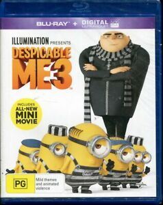 Despicable Me 3 Blu-ray NEW Region B