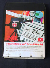 Mego 2Xl 1970's Talking Robot Player 8 Track Tape Cartridge Wonders Of The World