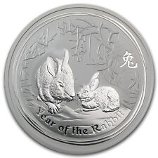 Mint Roll of 20 x 2011 Australia 1 oz Perth .999 Silver Lunar Rabbit