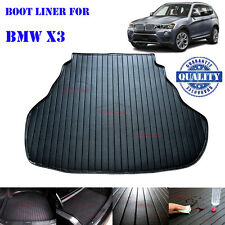 BMW X3 Customer Made Tailored PU Leather Cargo Tray Boot Liner