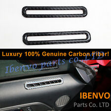 Luxury Carbon Fiber Ford Mustang 2015-17 Front Door Vent Air Outlet Frame Cover