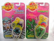 2 Mighty Max Horror Heads Toy Playsets Figures KRONOSAUR & DROID INVADER MOC
