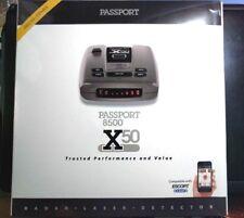 Escort Passport 8500 X50 Long-Range Radar/Laser Detectors w/Case, Red Display