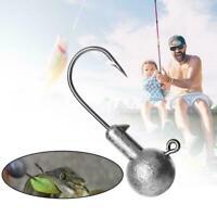Hochwertige Blei Angelhaken Outdoor Sport Angelhaken Lure Soft Lure Fishing A2L8