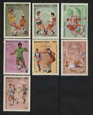Burkina Faso MNH Scott # 681-87 World Soccer Cup Value $ 9.85  US $$