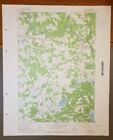 Motley, Minnesota Original Vintage 1963 USGS Topo Map 27' x 22'
