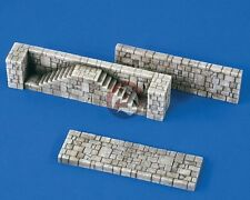 Verlinden 1/72 River / Wharf Embankment System Sections [Resin Diorama] 2207