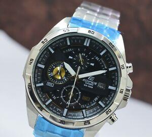 Casio Edifice EFR 556 Date 100 M WR Chronograph Quartz Men's Wrist Watch