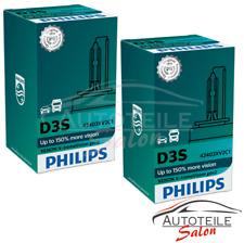 2x Philips Xenon X-tremeVision d3s gen2 hasta +150% más visión Xenon-Brenner