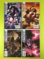 PSYLOCKE #1-4 LIMITED SERIES (2010) NM+ Very Low Print Run! Marvel NM 9.4