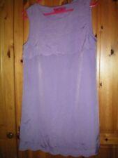 BOOHOO Lilac lightweight dress size 12