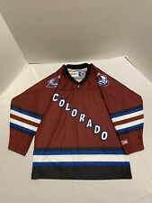 CCM Colorado Avalanche NHL Youth Air Knit Hockey Jersey (Small) One Size