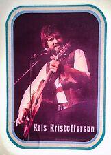 Orig vtg 70s Kris Kristofferson Johnny Cash Waylon Country Music t-shirt iron-on