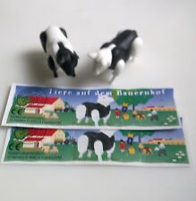 Komplettsatz Tiere auf dem Bauernhof mit allen BPZ  Ü-Ei 2002