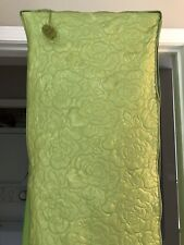 Retro Green Garment Dress Suit Quilted Bags 2 Vtg Fab