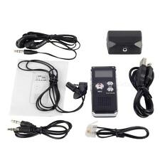 8GB Digital Voice Recorder 650Hr Dictaphone MP3 Player earphone+microphone BYWG