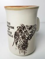 Vintage Kingdom of Saudi Arabia Camel Mug Cup Ashdale Pottery Products England