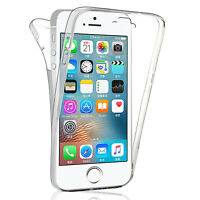 Coque Etui Silicone Gel ultra mince 360° Avant et Arrière Apple iPhone 5/ 5S/ SE