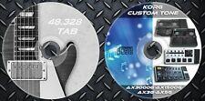 Patches KORG AX3000G-Ax1500G-AX3G and AX5G. & 48.328 Guitar Tablature