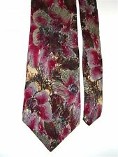 "Guy Laroche Men's Neck Tie Floral Abstract Classic 3 3/4"" x 56"""