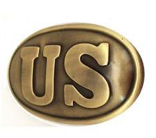 CIVIL WAR Union US Waist Belt Buckle Plate Replica Metal NEW STOCK FREE SHIP