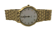 Rare Vintage Raymond Weil Classic Gold Tone Swiss Quartz Fidelio 32mm Watch