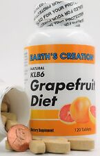 KLB6 Grapefruit Diet | Kelp, Soy Lecithin, B6 and Apple Cider Vinegar |  120Caps