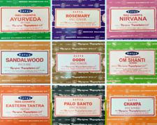 Satya Genuine Nag Champa Incense Sticks Joss 15g From 0.99p (mixed scents)