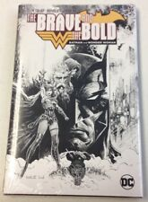 LCSD 2018 The Brave And The Bold Batman & Wonder Woman HC Local Comic Shop Day