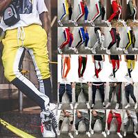 Men's Track Slim Fit Harem Pants Casual Sport Jogger Sweatpants Hip Hop Trousers