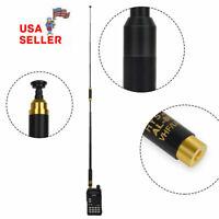 HYS Dual band UHF VHF Replacement SMA Male antenna High Gain Two way radio