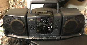 Fisher Studio Standard PH-D360 Boombox Cd Radio And Tape Machine