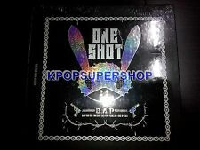 B.A.P 2nd Mini Album - One Shot CD+BOOKLET+PHOTOCARD K-Pop Kpop BAP New Sealed