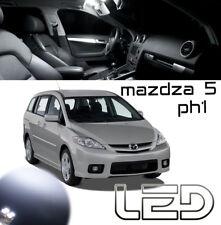 Mazda 5 CR Kit 4 Ampoules LED Blanc éclairage intérieur Plafonnier Coffre