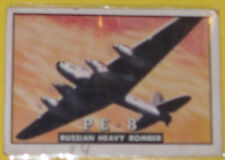 PE-8 Russian Heavy Bomber #57 Trading Card Great Picture See!