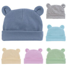Toddler Boys & Girls Winter Warm Casual Beanie Hat Newborn Baby Comfy Ears Cap