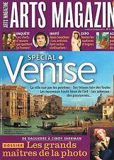 Arts Magazine  N°7  fev 2006:Spécial venise Les grands maitre de la photo