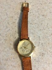 The Walt Disney Company Lorus Mickey Mouse, Gold Face Watch mint condition