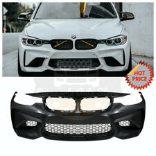 M2 STYLE FRONT BUMPER NO PDC FOR 2012-2018 BMW ALL F30 F31 3 SERIES SEDAN WAGON