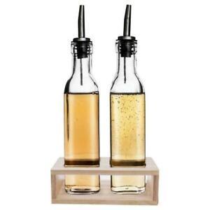 Oil and Vinegar dispenser bottle 2 pcs set Oil vinegar bottle Oil dispenser