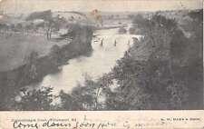 Williamsport Maryland Conococheague Creek Birds Eye View Antique Postcard J63778