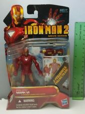 "Iron Man 2 Mark VI Figure 4"" New In Pack 2010 Movie Series 10 Marvel"