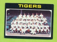 1971 Topps - Detroit Tigers Team Card (#336)