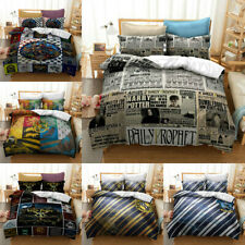 Harry Potter Bedding Set 3PCS Duvet Cover Pillowcase Quilt Cover Comforter Cover
