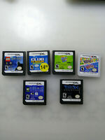 Lot of 5 Nintendo DS games and 1 3DS game